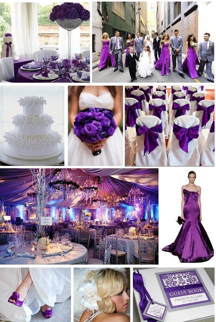 Lila Hochzeit  Lila Hochzeit 2066543  Weddbook