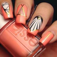 Wedding Nail Designs - Art Deco Inspired Nail Art #2069188 ...