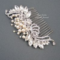 Vintage Wedding Hair Comb, Bridal Hair Accessories, Art ...