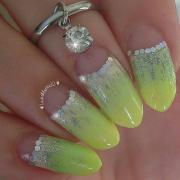 yellow wedding - nails #2153350