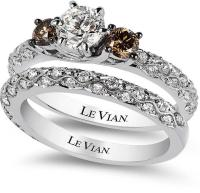Le Vian Bridal White Certified Diamond And Chocolate ...