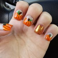 60 Fall Inspired Nail Designs: Leaves, Owls, Pumpkins More ...