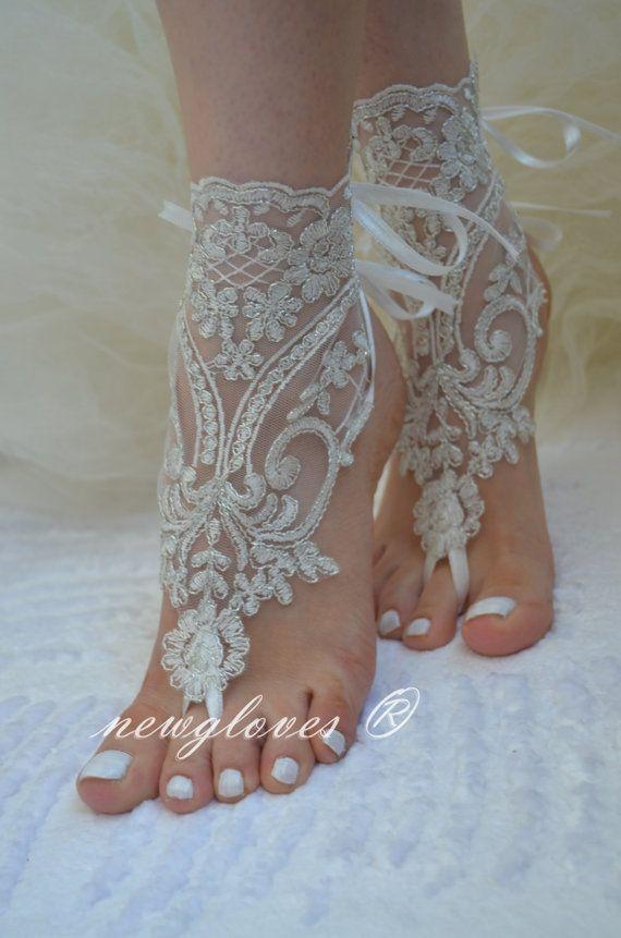 Ivory Bridal Sandals