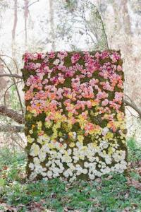 Amazing Flower Wall! A Unique Photobooth Backdrop, Place ...