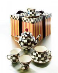 Courtly Check Teapot Set #2198014 - Weddbook