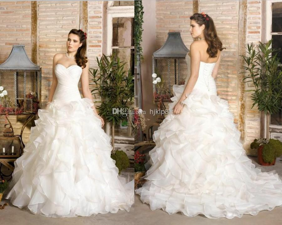 2014 New Strapless Sweetheart A-line Plus Size Sexy Lace