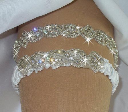 Bridal Garter Wedding Garter Belts Camo Garter Set Rhinestone