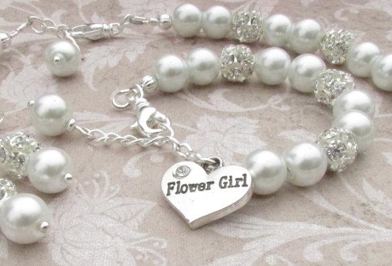 Flower Girl Jewelry Set