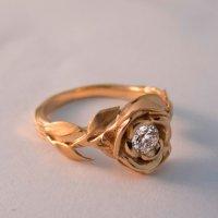 Rose Engagement Ring No.1 - Rose Gold Engagement Ring ...