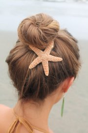 baja starfish hair barrette