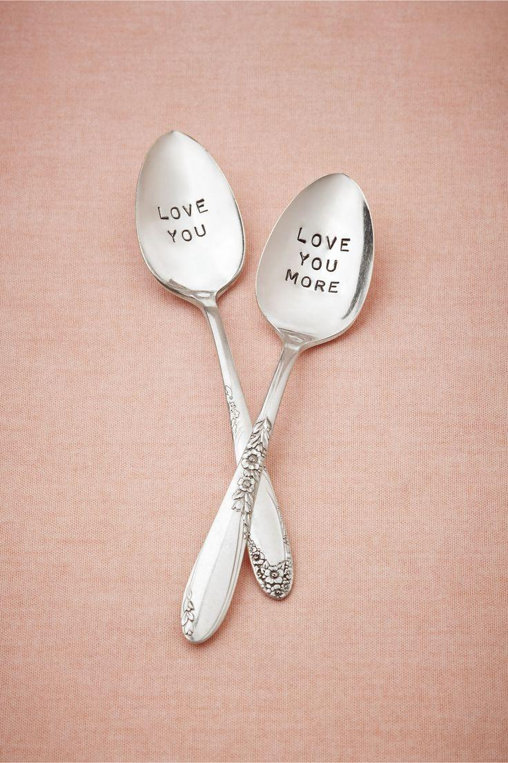 I Love You More Spoon