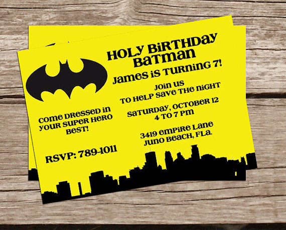 printable batman invitation super hero birthday invitation printable batman birthday invitation 2223335 weddbook
