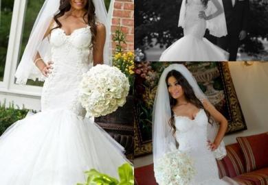 Mermaid Wedding Dress Tulle