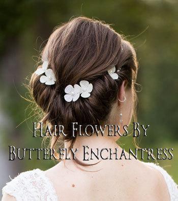 burlap wedding elegant rustic hair flowers bridal hair accessories 6 ivory burlap hydrangea