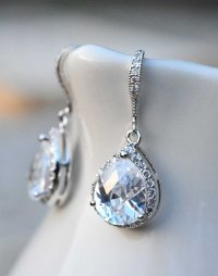 Bridal Jewelry Drop Earrings Vintage Earrings Wedding ...