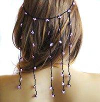 Crochet Headband Hair Weddings Hair Accessories Hair Piece ...