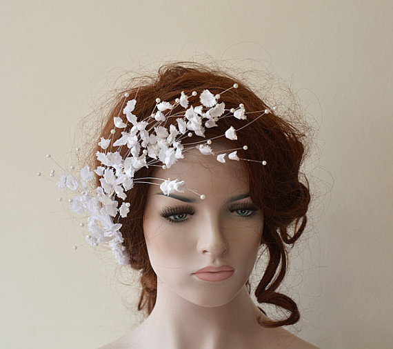 wedding flower hair combs wedding hair accessories bridal hair pieces hair pin clips fascinator hair flower bridesmaid