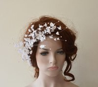 Wedding Flower Hair Combs, Wedding Hair Accessories ...