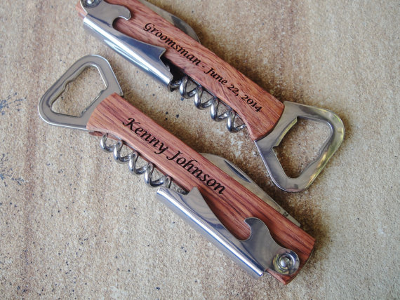 personalized bottle opener engraved
