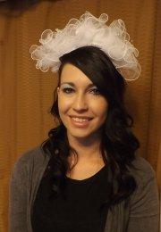 80s bride wedding veil vintage