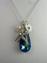 Beach Wedding Jewelry Set Of 4 - Starfish Bridesmaid ...