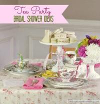 Wedding Theme - Tea Party Bridal Shower Ideas #2266963 ...