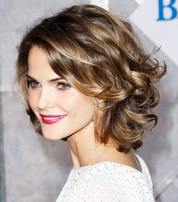 10 Lockenfrisuren Für Mittellange Haare Sie Versuchen Müssen