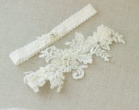Wedding Garter Belt Wedding Garter Belt Ivory Bridal Lace ...