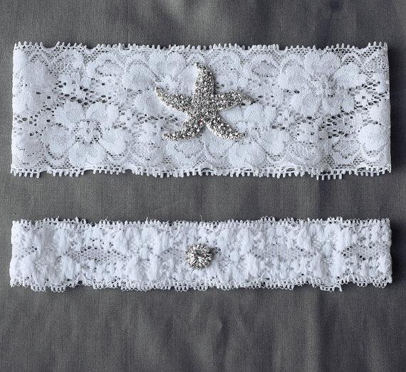 Wedding Garter Bridal Garter Set White Or Ivory Lace Garter Belt