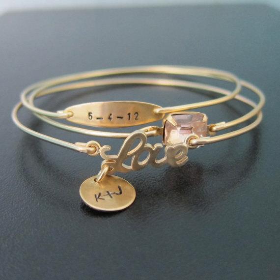 personalized wedding jewelry personalized