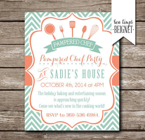 kitchen bridal shower storage cabinets for pampered chef party invitation invite printable