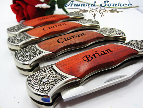 groomsmen gift knife best man wedding gift custom engraved pocket knife christmas gift birthday gift fathers day gift or boyfriend gift