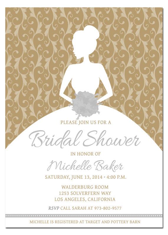 Printable Diy Bridal Shower Invitation