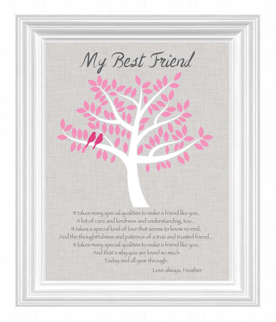 best friend gift personalized