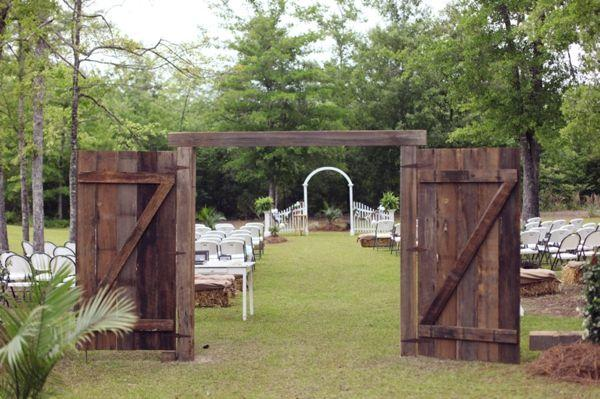 Rustic Pink Southern Wedding Ideas