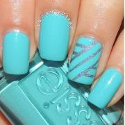 super easy nail art design