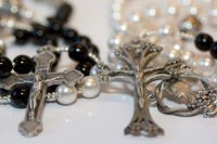 Personalized Bride & Groom Or His/Hers Rosary Set #2376796 ...