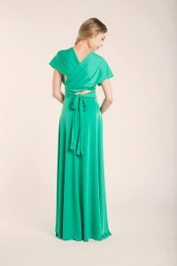 Spring Green Infinity Dress, Green Long Infinity Dress ...