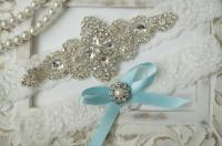 Wedding Garter Set, Bridal Garter Set, Vintage Wedding ...