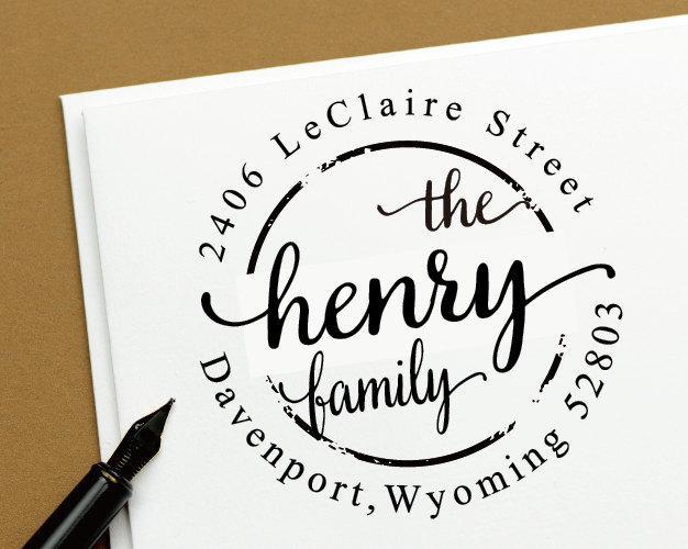 round calligraphy custom return