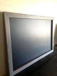 """Large Framed MAGNETIC Chalkboard 20""""x30"""", Rustic Frame ..."""