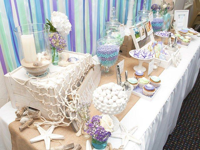 Beach Themed Engagement Party {Planning, Ideas, Decor ...