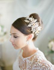 wedding hair fall and winter
