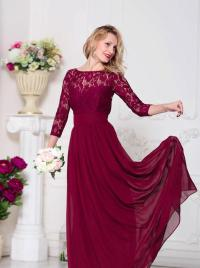 Burgundy Bridesmaid Dress Marsala Bridesmaid Dress Wine ...