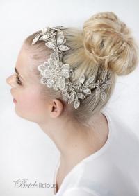 My Eternal Aphrodite Bridal Hairpiece - Stunning Hair ...