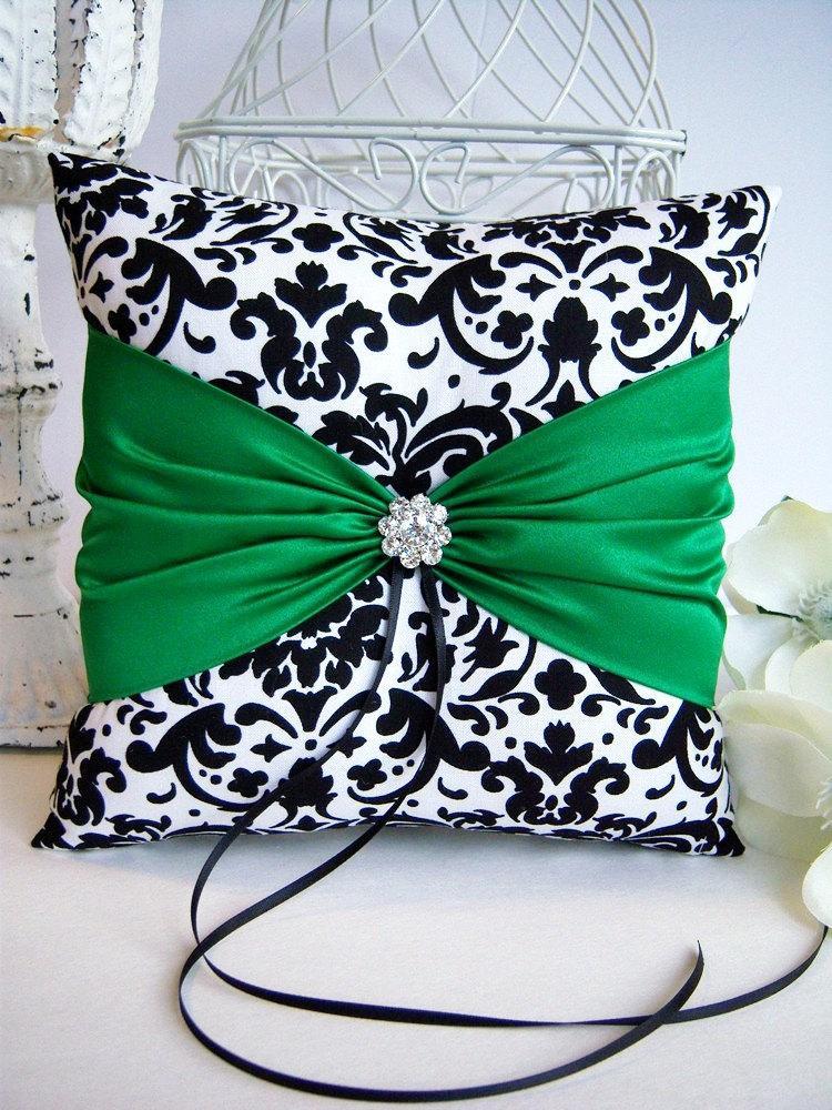 Ivory Ring Pillow Wedding Bearer Pillows