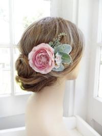 best wedding hair flowers flower hair clips accessories ...