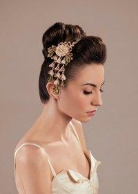 Ume Silk Flowers Bridal Blush Headpiece Kanzashi Headband ...