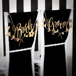 Wedding Chair Covers For Bride And Groom Ergonomic Reclining Signs Decoration Chairs Floral Branch Joyful