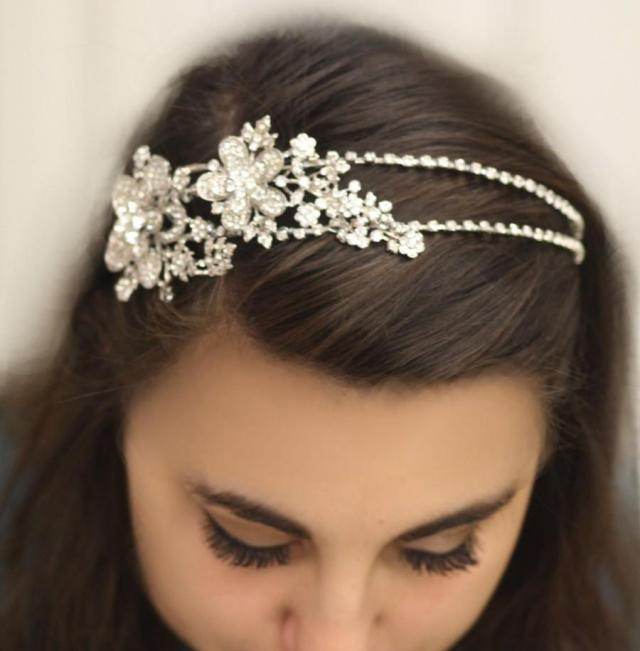 bridal headband, hair accessories, wedding head band